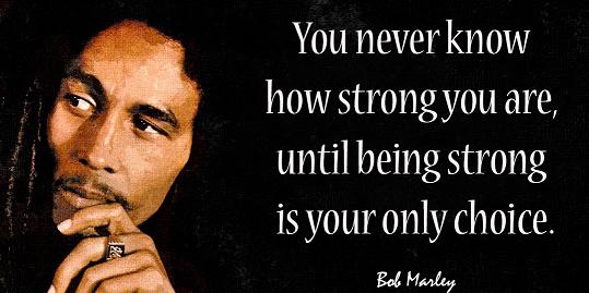bob marley strong