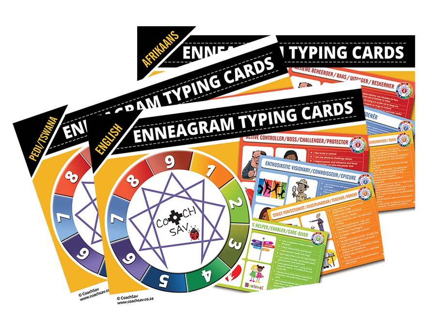 Enneagram Typing Cards Gift Pack